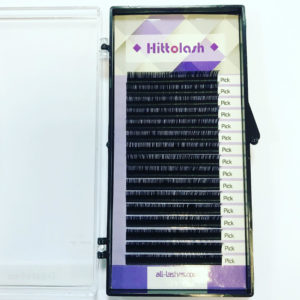 Ресницы HITTOLASH отд. длины, изгиб C+, 16 лент