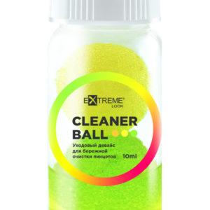 Уходовый девайс для бережной очистки пинцетов Cleaner Ball, 10 мл 1