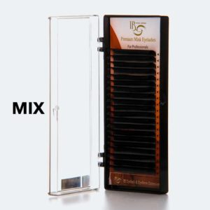 Ресницы I-Beauty, 20 линий MIX изгиб M (8-13 мм)