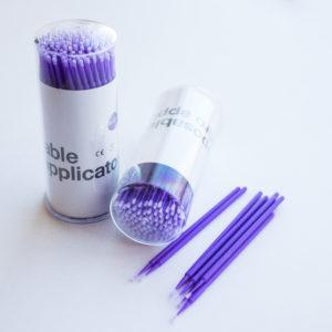 Микробраши Диаметр щеточки 1,5 мм Фиолетовые