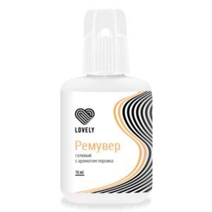 Гель-ремувер LOVELY с ароматом персика, 15 гр