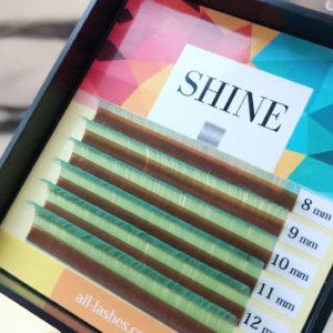 Мини-палетки SHINE цветные (тиффани), 6 лент