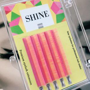 Мини-палетки SHINE цветные (розовые), 5 лент