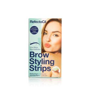 Восковые полоски REFECTOCIL Brow Styling Strips, набор на 4 процедуры