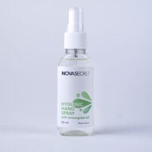 Кожный антисептик NOVASECRET с маслом лемонграсса (спрей) 50 мл