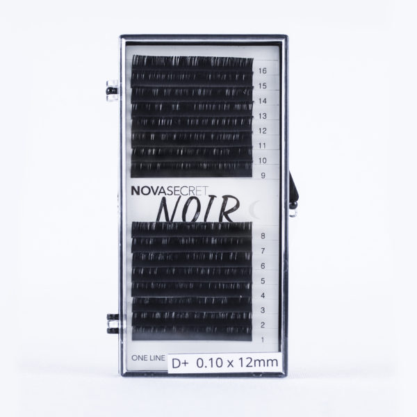 Ресницы NOVASECRET Noir Одна длина, 16 линий 1