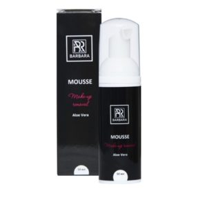 Мусс для снятия макияжа BARBARA с ароматом алоэ вера, 50 мл