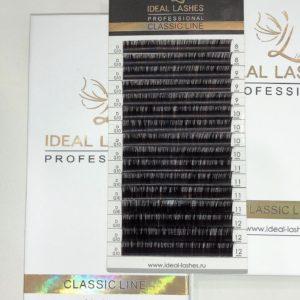 Ресницы Горький шоколад Ideal Lashes MIX (16 линий)