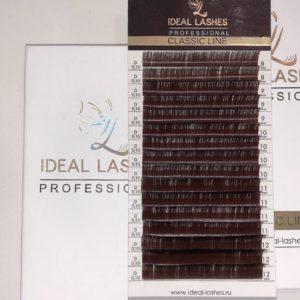 Черные ресницы Ideal Lashes Classic MIX (16 линий)