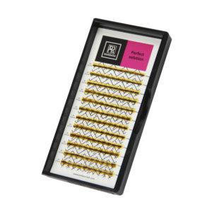 Ресницы Perfect solution готовые пучки 5D, 12 линий 1