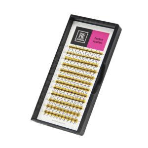Ресницы Perfect solution готовые пучки 6D, 12 линий 1