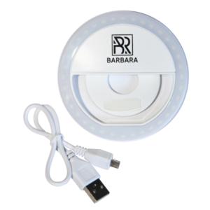 Круглая LED лампа FLASH LIGHT для смартфона и планшета BARBARA (Цвет на выбор) 1