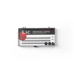 Ресницы-пучки накладные Lic, Individual Lashes D 0.07, 8 mm